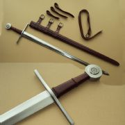 Late Gothic Bastard Sword With Belt